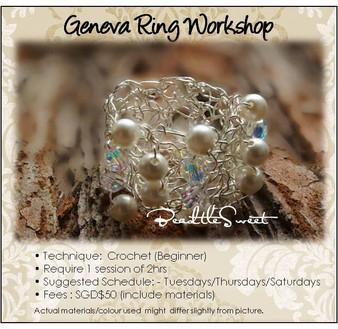 Jewelry Making Course : Geneva Ring Workshop
