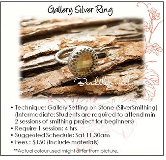 Metalsmithing (Gallery Ring Workshop)