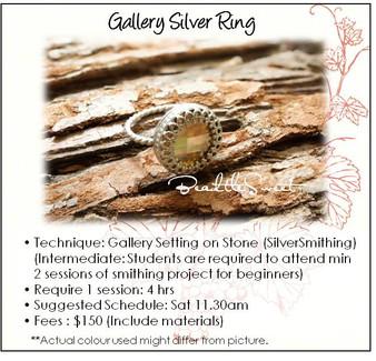 Metalsmithing (Gallery Ring Workshop)