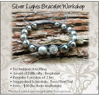 Jewelry Making Course : Silver Lights Bracelet Workshop
