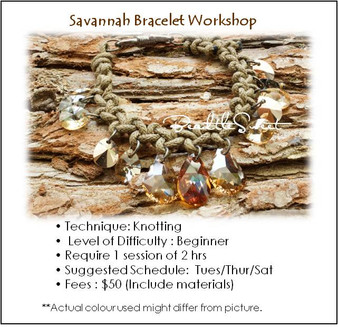 Jewelry Making Course : Savannah Bracelet Workshop