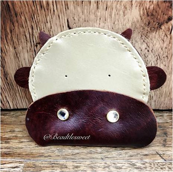 Leather Workshop : Moo Moo Cow Coin Purse Workshop