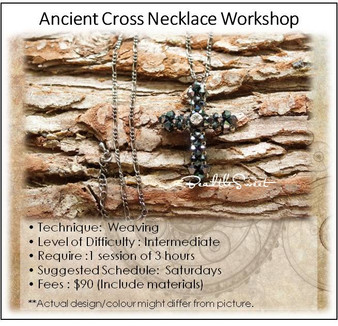Jewelry Making Course : Ancient Cross Necklace Workshop