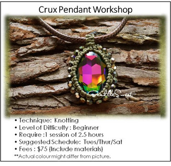 Jewelry Making Course : Crux Pendant Workshop