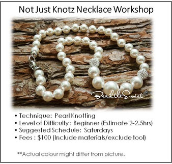 Jewelry Making Course : Not Just Knotz Necklace Workshop