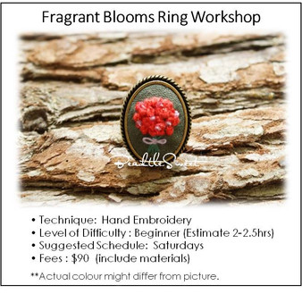 Jewelry Making Course : Fragrant Blooms Ring Workshop