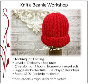 Knitting Course : Knit a Beanie Workshop