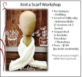 Knitting Course : Knit a Scarf Workshop