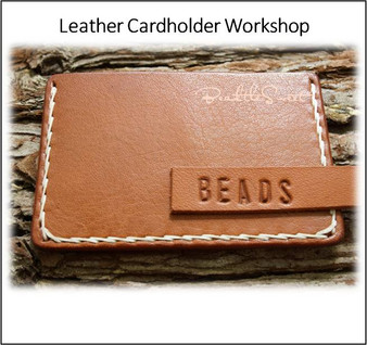 Leather Course : Leather Cardholder Workshop