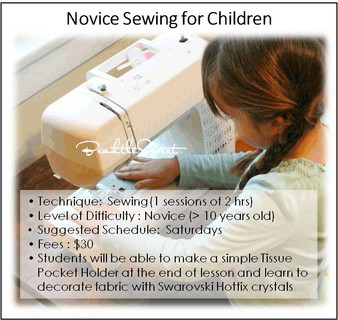 Sewing Workshop for Children