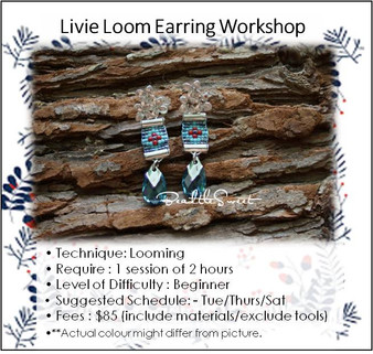 Jewellery Making Course : Livie Loom Earring Workshop