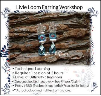 Jewellery Making Course : Livie Loom Earring Workshop