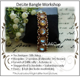 Jewellery Making Course : DeLite Bangle Workshop