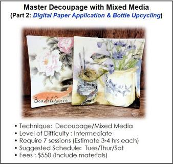 Decoupage Workshop by BeadtleSweet