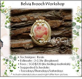 Jewellery Making Course : Belvia Brooch Workshop