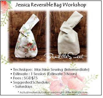 Jessica Reversible Bag Workshop
