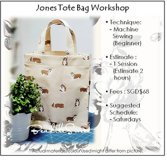 Jones Tote Bag Workshop