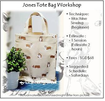 Jones Tote Bag Workshop