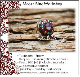 Jewellery Making Course : Megan Ring Workshop