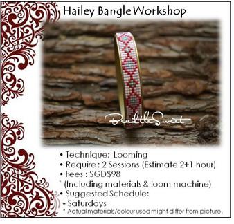 Jewellery Making Course : Hailey Bangle Workshop
