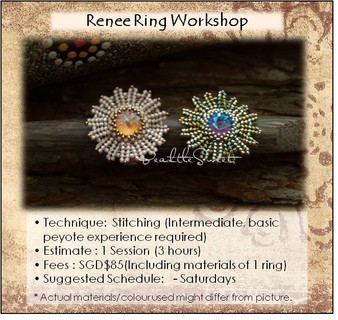 Jewellery Making Course : Renee Ring Workshop