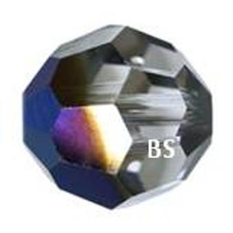 Swarovski 5000 Metallic Blue Round Bead