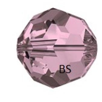 Swarovski 5000 Crystal Antique Pink Round Bead