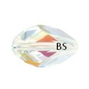 Swarovski 5650 Cubist Bead Crystal AB 12x8mm
