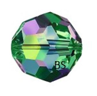 Swarovski 5000 Crystal Vitrail Medium Round Bead