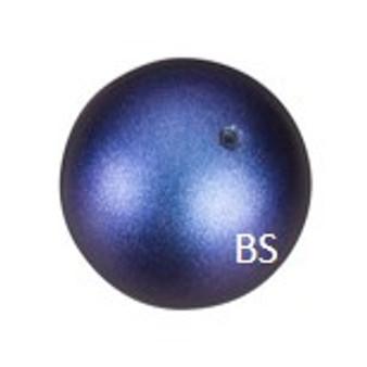 2mm Swarovski 5810 Iridescent Dark Blue Pearls