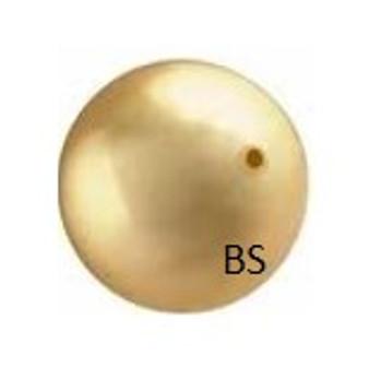 3mm Swarovski 5810 Bright Gold Pearls