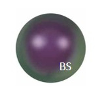 3mm Swarovski 5810 Iridescent Purple Pearls