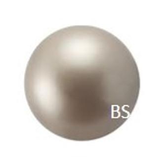 4mm Swarovski 5810 Platinum Pearls