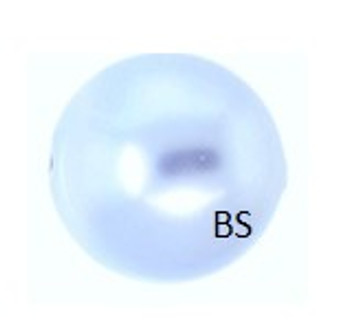 4mm Swarovski 5810 Light Blue Pearls