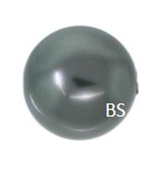 4mm Swarovski 5810 Dark Grey Pearls
