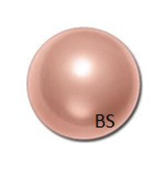 4mm Swarovski 5810 Rose Peach Pearls