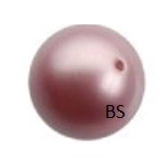 5mm Swarovski 5810 Powder Rose Pearls