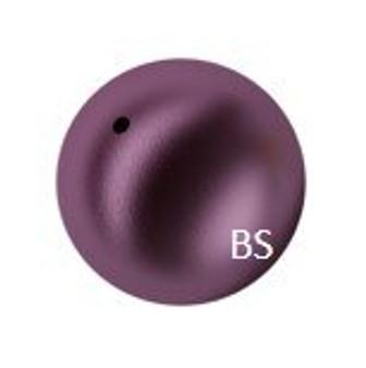 5mm Swarovski 5810 Elderberry Pearls