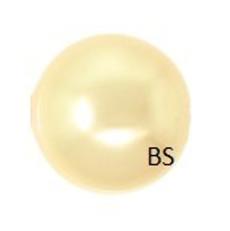 6mm Swarovski 5810 Gold Pearls