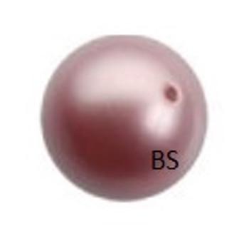 6mm Swarovski 5810 Powder Rose Pearls