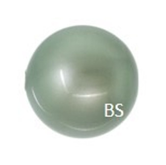 6mm Swarovski 5810 Powder Green Pearls