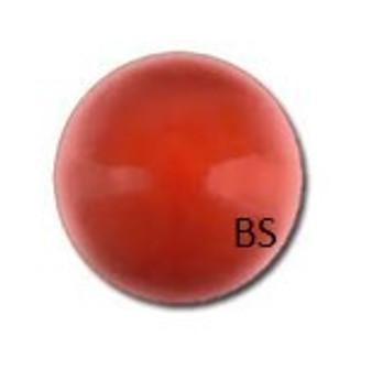 6mm Swarovski 5810 Red Coral Pearls