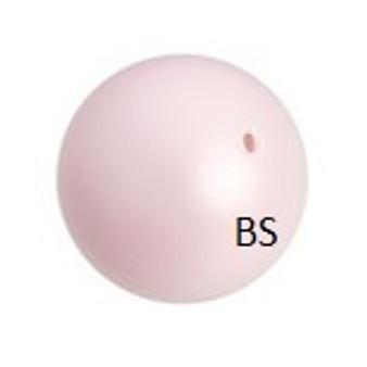 6mm Swarovski 5810 Pastel Rose Pearls