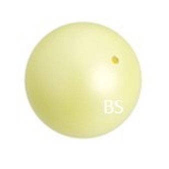 6mm Swarovski 5810 Pastel Yellow Pearls