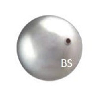 8mm Swarovski 5810 Light Grey Pearls