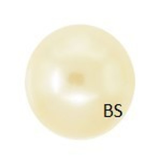 8mm Swarovski 5810 Light Gold Pearls