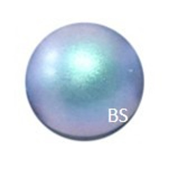 8mm Swarovski 5810 Iridescent Light Blue Pearls