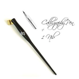 Oblique Calligraphy Pen with Nib