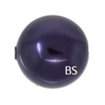 12mm Swarovski 5810 Dark Purple Pearls