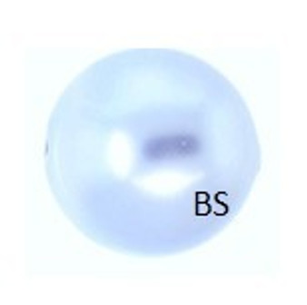12mm Swarovski 5810 Light Blue Pearls